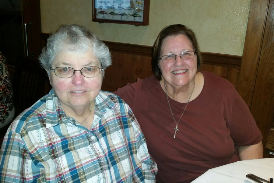 Angela and Lynn Grisafe