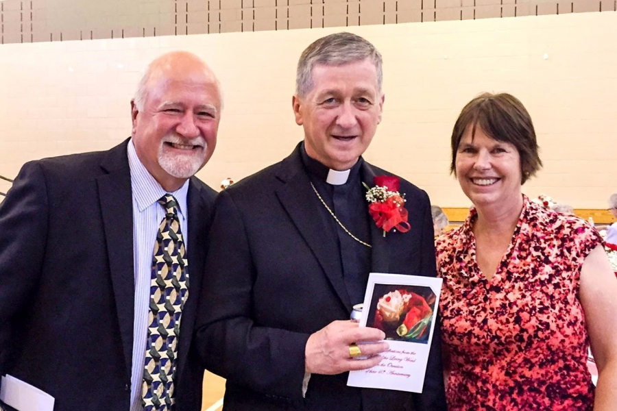 Colabuonas with Archbishop